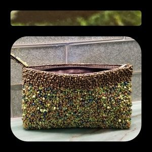 Vintage Natural Beaded Evening Purse